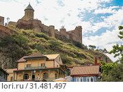 Купить «Tbilisi Old Town, the Historic district of the capital of Georgia», фото № 31481497, снято 17 августа 2016 г. (c) easy Fotostock / Фотобанк Лори
