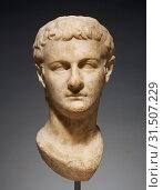 Head of Emperor Caligula, Asia Minor, about 40, Marble, 43 × 21.5 × 25 cm (16 15,16 × 8 7,16 × 9 13,16 in.) (2018 год). Редакционное фото, фотограф © Liszt Collection / age Fotostock / Фотобанк Лори
