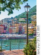 Genova Nervi in Liguria (2019 год). Стоковое фото, фотограф Роман Сигаев / Фотобанк Лори