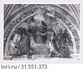 Купить «Campania Napoli Naples S. Lorenzo Maggiore, this is my Italy, the italian country of visual history, Medieval Sculpture, architecture, architectural sculpture...», фото № 31551373, снято 20 октября 2018 г. (c) age Fotostock / Фотобанк Лори