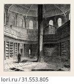 THE CHAPTER HOUSE PREVIOUS TO ITS RESTORATION. London, UK, 19th century engraving (2012 год). Редакционное фото, фотограф Artokoloro / age Fotostock / Фотобанк Лори