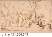 Купить «The Adoration of the Magi, 17th century, Pen and brown ink, brush and brown wash, sheet: 7 1/2 x 11 3/4 in. (19.1 x 29.8 cm), Drawings, Nicolaes Maes (Dutch, Dordrecht 1634–1693 Amsterdam)», фото № 31566545, снято 22 апреля 2017 г. (c) age Fotostock / Фотобанк Лори