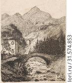 Купить «Village in the Apennines, Elias Stark, 1859 - 1888», фото № 31574853, снято 1 декабря 2014 г. (c) age Fotostock / Фотобанк Лори