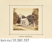 Orton Longueville, William Ball (British, active 1860s - 1870s), Orton Longueville, Cambridgeshire, England, 1868, Albumen silver print (2018 год). Редакционное фото, фотограф © Liszt Collection / age Fotostock / Фотобанк Лори