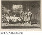 Купить «Baptism Among the Banyans, Ceremonies et coutumes religieuses de tous les peuples du monde, Picart, Bernard, 1673-1733, Engraving, 1723-1743, Plate 2 follows...», фото № 31583901, снято 7 сентября 2018 г. (c) age Fotostock / Фотобанк Лори