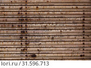 Купить «Old metal texture», фото № 31596713, снято 12 декабря 2019 г. (c) Яков Филимонов / Фотобанк Лори