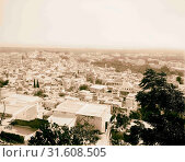 Tripoli from castle. 1898, Lebanon, Tripoli (2018 год). Редакционное фото, фотограф © Liszt Collection / age Fotostock / Фотобанк Лори