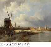 Купить «View of The Hague, Cornelis Springer, c. 1850 - c. 1852», фото № 31617421, снято 16 ноября 2014 г. (c) age Fotostock / Фотобанк Лори