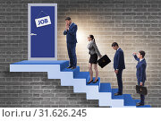 Купить «Recruitment concept with business people», фото № 31626245, снято 28 марта 2020 г. (c) Elnur / Фотобанк Лори