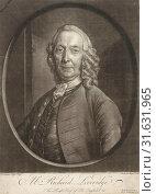 Portrait of Richard Leveridge, Andreas van der Myn, 1753 (2015 год). Редакционное фото, фотограф Artokoloro / age Fotostock / Фотобанк Лори