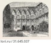 Купить «SIR THOMAS GRESHAM'S HOUSE IN BISHOPSGATE STREET, London, UK, 19th century engraving», фото № 31645037, снято 4 августа 2014 г. (c) age Fotostock / Фотобанк Лори
