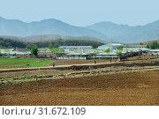 Купить «North Korea. Countryside», фото № 31672109, снято 5 мая 2019 г. (c) Знаменский Олег / Фотобанк Лори