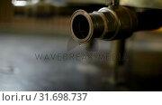 Pipe of distillery tank 4k. Стоковое видео, агентство Wavebreak Media / Фотобанк Лори