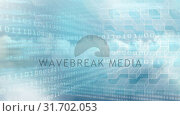 Купить «Digital animation of binary technology code and geometric cubes 4k», видеоролик № 31702053, снято 12 ноября 2018 г. (c) Wavebreak Media / Фотобанк Лори