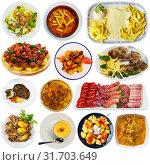 Купить «Collection of Spanish meals», фото № 31703649, снято 17 сентября 2019 г. (c) Яков Филимонов / Фотобанк Лори