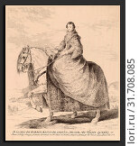 Francisco de Goya after Diego Velázquez, Isabel de Borbon, Spanish, 1746 - 1828, 1778, etching and drypoint (2012 год). Редакционное фото, фотограф Artokoloro / age Fotostock / Фотобанк Лори