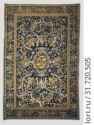 Купить «Carpet, Made in the Chaillot Workshops of Philippe Lourdet (French), and Simon Lourdet, Savonnerie Manufactory (French, active 1627 - present), Paris,...», фото № 31720505, снято 7 сентября 2018 г. (c) age Fotostock / Фотобанк Лори