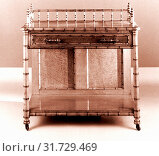 Купить «Wash Stand, ca. 1885, Made in New York, New York, United States, American, Maple, 35 3/8 x 35 1/4 x 17 3/4 in. (89.9 x 89.5 x 45.1 cm), Furniture, Attributed to R. J. Horner and Company», фото № 31729469, снято 24 февраля 2017 г. (c) age Fotostock / Фотобанк Лори