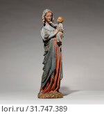 Купить «Devotional Statuette of the Virgin and Child, ca. 1250–70, Made in Paris, Ile-de-France, France, French, Oak, modern paint, Overall: 15 3/4 x 4 3/4 x...», фото № 31747389, снято 27 апреля 2017 г. (c) age Fotostock / Фотобанк Лори