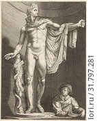 Купить «Apollo Belvedere, print maker: Nicolaes de Bruyn, Hendrick Goltzius, after c. 1592 - in or after c. 1605 and/or c. 1645 - c. 1706», фото № 31797281, снято 8 августа 2016 г. (c) age Fotostock / Фотобанк Лори
