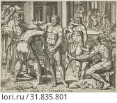 Dress the naked, Pieter Nagel, Gerard P. Groenning, in or before 1571 (2014 год). Редакционное фото, фотограф Artokoloro / age Fotostock / Фотобанк Лори
