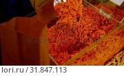 Купить «Close-up of woman shopping in supermarket 4k», видеоролик № 31847113, снято 13 сентября 2018 г. (c) Wavebreak Media / Фотобанк Лори