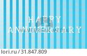 Купить «Happy anniversary video», видеоролик № 31847809, снято 5 декабря 2018 г. (c) Wavebreak Media / Фотобанк Лори