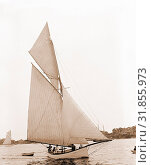 Купить «Hiawatha, Hiawatha (Yacht), Yachts, 1892», фото № 31855973, снято 18 августа 2014 г. (c) age Fotostock / Фотобанк Лори