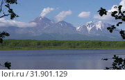 Купить «Авачинский вулкан», видеоролик № 31901129, снято 31 июля 2019 г. (c) А. А. Пирагис / Фотобанк Лори