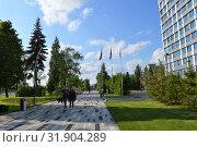 Казань: Фестивальный бульвар Kazan: Festival Boulevard (2019 год). Редакционное фото, фотограф Светлана Федорова / Фотобанк Лори