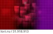 Купить «Animation of grid pattern against 3d decor », видеоролик № 31918913, снято 5 марта 2019 г. (c) Wavebreak Media / Фотобанк Лори