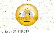 Купить «Face With Rolling Eyes emoji», видеоролик № 31919317, снято 5 марта 2019 г. (c) Wavebreak Media / Фотобанк Лори