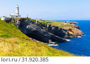 Купить «Cape Mayor with lighthouse, Santander, Spain», фото № 31920385, снято 14 июля 2019 г. (c) Яков Филимонов / Фотобанк Лори