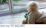 Купить «Siblings playing with each other in living room 4k», видеоролик № 31922097, снято 28 мая 2018 г. (c) Wavebreak Media / Фотобанк Лори