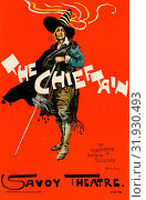 Купить «English Poster for Savoy Theatre, The Chieftain. Hardy, Dudley (1867-1922), Artist», фото № 31930493, снято 3 августа 2016 г. (c) age Fotostock / Фотобанк Лори