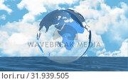 Купить «Rotating globe», видеоролик № 31939505, снято 30 апреля 2019 г. (c) Wavebreak Media / Фотобанк Лори