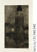 Купить «Montelbaanstoren at night, Willem Witsen, 1870 - 1923», фото № 31940945, снято 3 декабря 2014 г. (c) age Fotostock / Фотобанк Лори