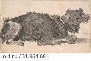 Купить «A Dog, 17th century, Black chalk and gray wash, 3 1/4 x 6 in. (8.3 x 15.2 cm), Drawings, Cornelis Saftleven (Dutch, Gorinchem 1607–1681 Rotterdam)», фото № 31964681, снято 22 апреля 2017 г. (c) age Fotostock / Фотобанк Лори
