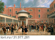 Купить «Epsom Races: Settling Day at Tattersalls, James Pollard, 1792-1867, British», фото № 31977281, снято 7 августа 2014 г. (c) age Fotostock / Фотобанк Лори