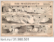 Drawings and Prints, Drawing, Dummy for The Wiggle Much Comic Strip, Number 11 (published by The New York Herald, May 29, 1910), Artist, Herbert E. Crowley... (2017 год). Редакционное фото, фотограф ed / age Fotostock / Фотобанк Лори