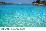 Купить «Ibiza Port D es Torrent beach in Sant Josep of Balearic Islands.», фото № 32007629, снято 27 июня 2019 г. (c) easy Fotostock / Фотобанк Лори