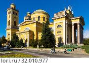 Купить «Cathedral Basilica in Eger», фото № 32010977, снято 30 октября 2017 г. (c) Яков Филимонов / Фотобанк Лори