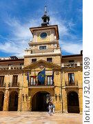 Oviedo Town Hall (2019 год). Редакционное фото, фотограф Яков Филимонов / Фотобанк Лори