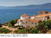 Купить «Fortified City Monemvasia (Laconia, Greece, Peloponnese)», фото № 32011653, снято 15 июня 2019 г. (c) Татьяна Ляпи / Фотобанк Лори