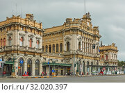 Genova Brignole Railway Station (2019 год). Редакционное фото, фотограф Роман Сигаев / Фотобанк Лори