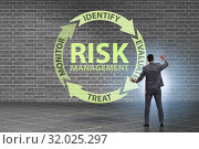 Concept of risk management in modern business. Стоковое фото, фотограф Elnur / Фотобанк Лори