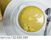 Купить «Homemade nourishment pasta soup», фото № 32039189, снято 17 сентября 2019 г. (c) Яков Филимонов / Фотобанк Лори