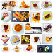 Купить «Collage of delicious desserts on a white background», фото № 32059125, снято 22 августа 2019 г. (c) Яков Филимонов / Фотобанк Лори