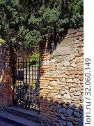 Casa del Petrarca, Eingang. Стоковое фото, фотограф Bernd J. W. Fiedler / age Fotostock / Фотобанк Лори