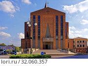Kirche, Parrocchia del Duomo di Monselice, Parrocchia di San Giuseppe Artigiano. Стоковое фото, фотограф Bernd J. W. Fiedler / age Fotostock / Фотобанк Лори